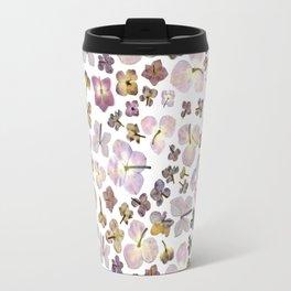 Scattered Hydrangea Travel Mug
