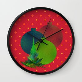 Ye Olde Tree Wall Clock