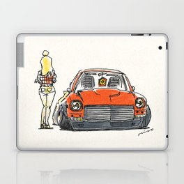 Crazy Car Art 0131 Laptop & iPad Skin