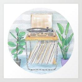 BossaNova Vinyl Day Art Print