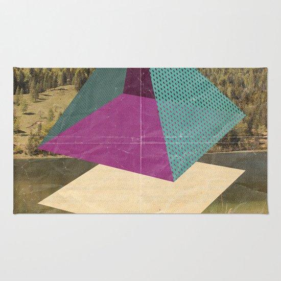 piramidi&nuvole Rug