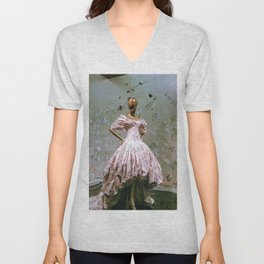 China Through The Looking Glass 4 Unisex V-Neck