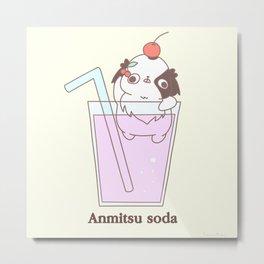 "Japanese chin Mochio ""ANMITSU SODA"" Metal Print"