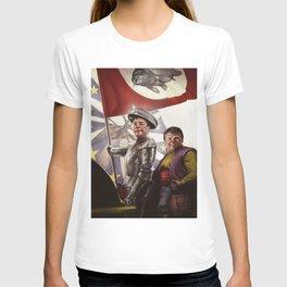 Don KeyHotair - Nigel Farage/Don Quixote mash-up T-shirt