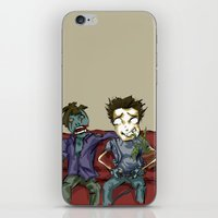 resident evil iPhone & iPod Skins featuring playing resident evil by Toubab