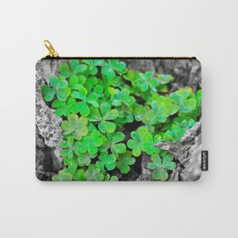 Clover Cluster Carry-All Pouch