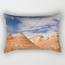 The Coyote Buttes Rectangular Pillow