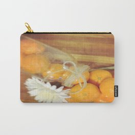 Clementines From Above Carry-All Pouch