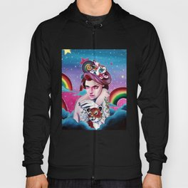 In the Candy Clouds of the Sticker Kingdom Hoody