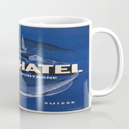 Vintage poster - Neuchatel Coffee Mug