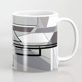 Gray Geometry Coffee Mug