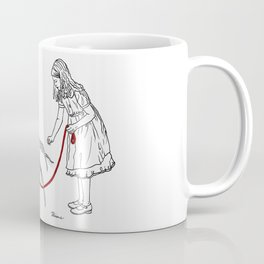 Danger Kids: Little Miss Muffet Coffee Mug
