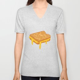 Grilled Cheese Unisex V-Neck