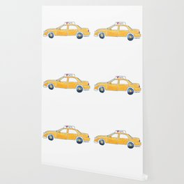 NYC taxi cab Wallpaper