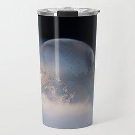 Blue Bubble Hill Travel Mug