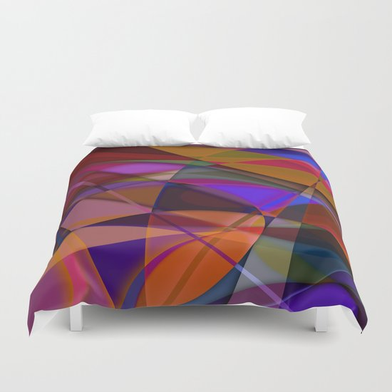 Abstract #376 Duvet Cover