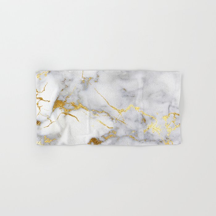 Italian Gold Marble Hand Amp Bath Towel By Hunterofwoods
