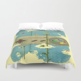 Lost & Found Duvet Cover