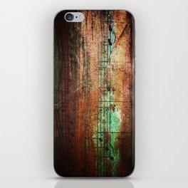 Bronze music iPhone Skin