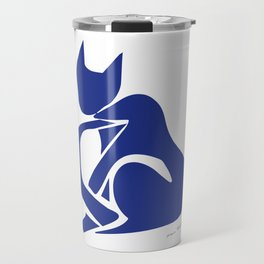 Henri Matisse - Le Chat Bleu (Blue Cat) Artwork - Prints, Posters, Tshirts, Bags, Mugs, Men, Travel Mug
