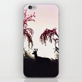 Silhouette Game Strong iPhone Skin