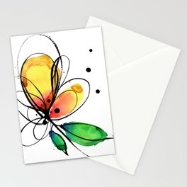 Ecstasy Bloom No.8 by Kathy Morton Stanion Stationery Cards
