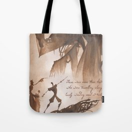 The Tale of Three Brothers Tote Bag