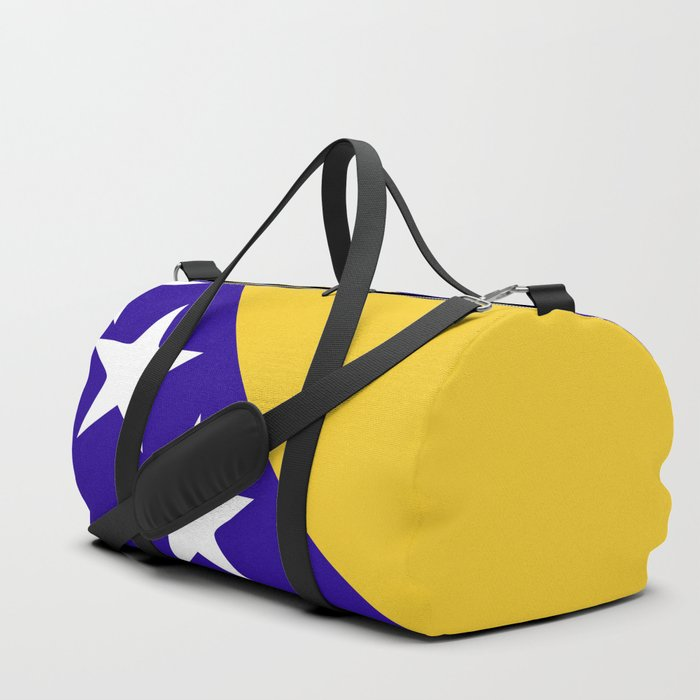 Bosnia and Herzegovina flag emblem Duffle Bag