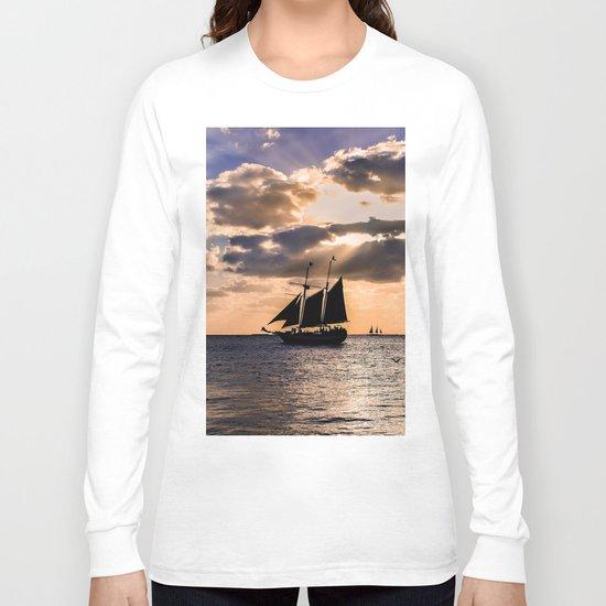 Sunset in Key West, Florida Long Sleeve T-shirt