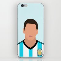 messi iPhone & iPod Skins featuring MESSI by Anthony Morell