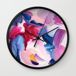 Lottie Abstract Painting Wall Clock
