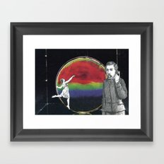 Aim High But Humble Your Mind Framed Art Print