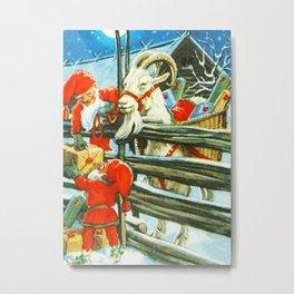 """Billy Goat Helper"" by Jenny Nystrom Metal Print"