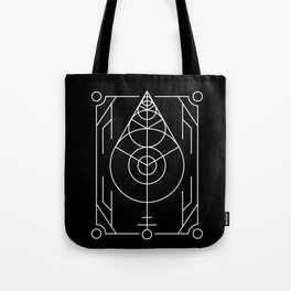 The Leaf Sacred Geometry Tote Bag