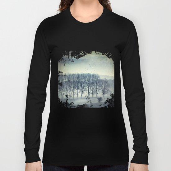 Trees in Mist Long Sleeve T-shirt