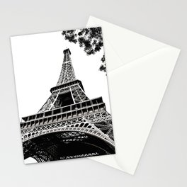 Eiffel Tower in Paris, France. Stationery Cards