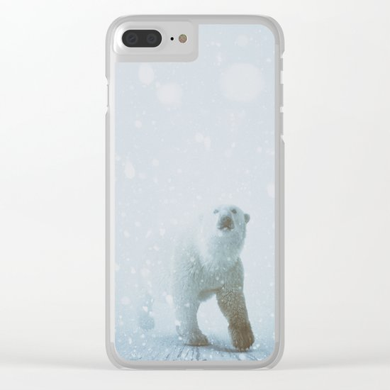 Snow Patrol Clear iPhone Case
