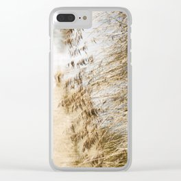 Riverside Grass Clear iPhone Case