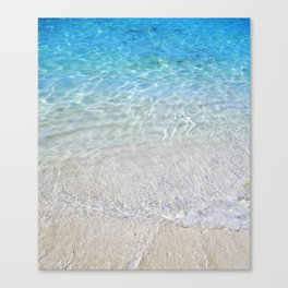 Crystal Clear Water Canvas Print