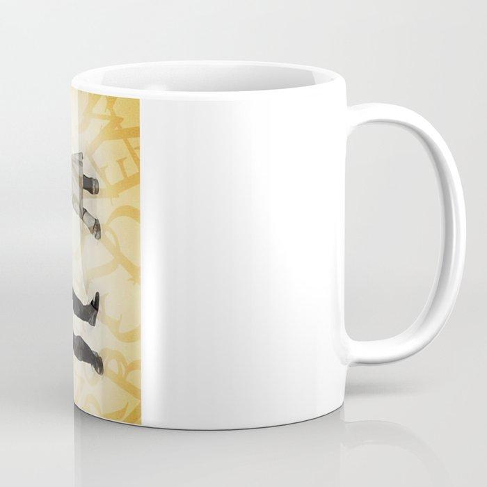Mr P and Mrs Q Coffee Mug