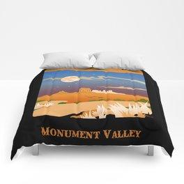 Monument Moon 2 Comforters