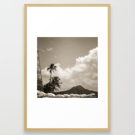 Kono Framed Art Print