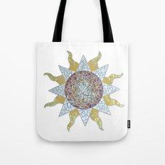 Mosaic Sun Tote Bag