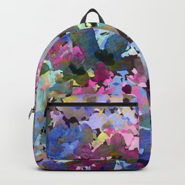 Little Blue Delphiniums Backpack