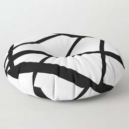 Star Diamond Line Abstract Floor Pillow