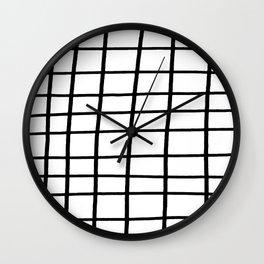 Hand Grid Large Wall Clock