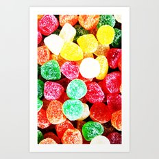 SUGAR CANDY Art Print