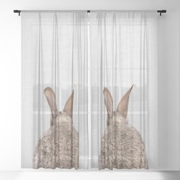 Rabbit Tail - Colorful Sheer Curtain