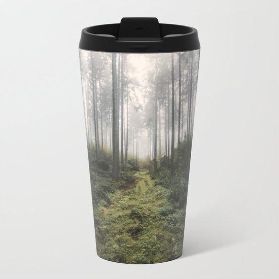Unknown Road - landscape photography Metal Travel Mug