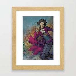 Rebel Mayor Framed Art Print